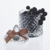 Crystal Glass Aromatherapy Candle. Solace, Lavender. Calming & Relaxing