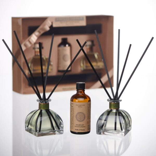 Aromatherapy Reed Diffuser Pine and Eucalyptus