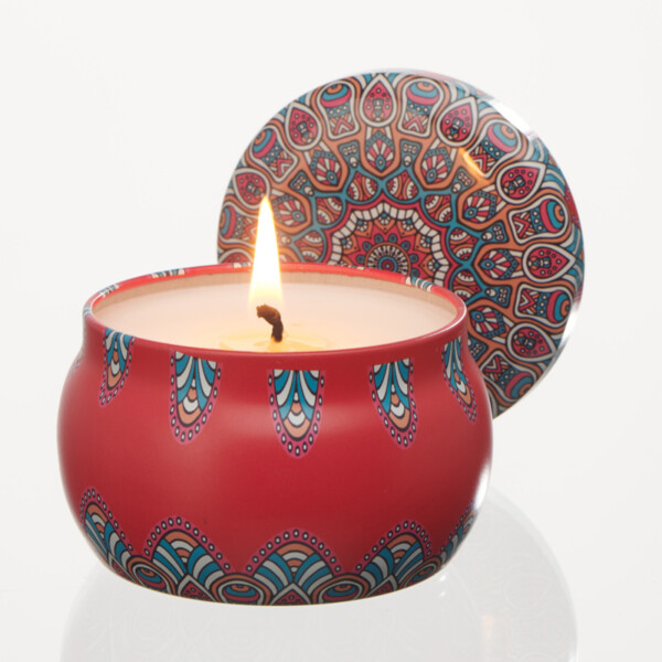 'Bewitched' Ylang Ylang - Attraction & Energy Aromatherapy Tin Candle